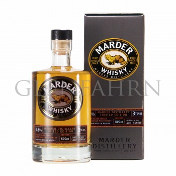 Marder Whisky 3 Jahre Limited Edition 2017
