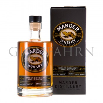 Marder Whisky 3 Jahre 2nd Edition 2014