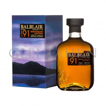 Balblair 1991 3rd Release bot.2018