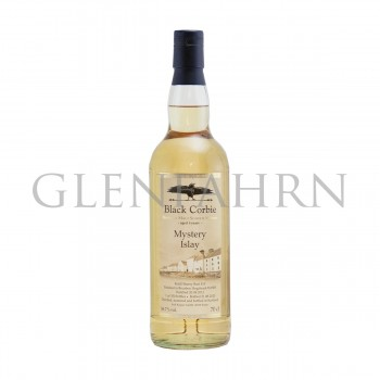 Mystery Islay 2012 8y Cask#15 + #10/505 Bourbon Cask Finish Black Corbie