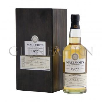 Allt-a-Bhainne 1977 Cask#13765 Ian MacLeod's