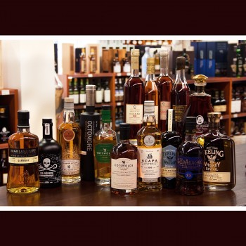After Work Dram 06.12.2019 Whisky, noch mal Whisky & Pierre de Segonzac Cognac