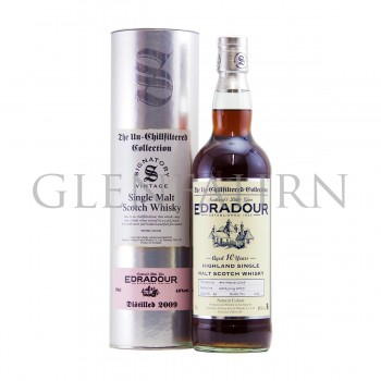Edradour 2009 10y Cask#49 The Un-Chillfiltered Collection Signatory