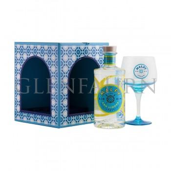 Malfy Gin con Limone Geschenkpackung mit Copa Glas