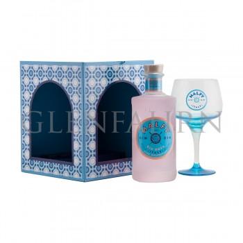 Malfy Gin Rosa Geschenkpackung mit Copa Glas
