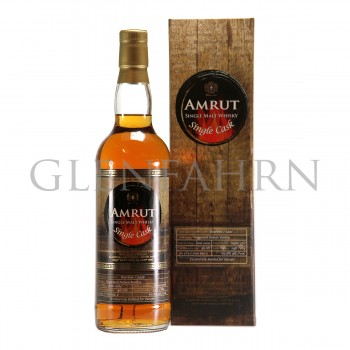 Amrut 2009 Single Cask Bourbon Cask Unpeated Indian Barley
