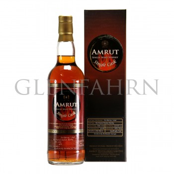 Amrut 2009 Single Cask PX-Sherry Cask Unpeated Indian Barley