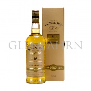 Bowmore 1989 16 Jahre Cask Strength Natural