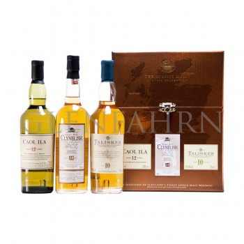 Classic Malts Coastal Collection - Caol Ila, Clynelish, Talisker 3x20cl