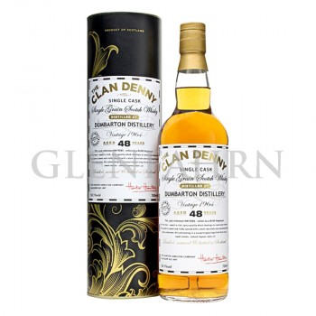 Dumbarton 1964 48 Jahre Single Grain Whisky Clan Denny Hunter Hamilton