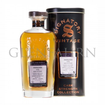 Inverleven 1976 34 Jahre Cask Strength Collection Signatory