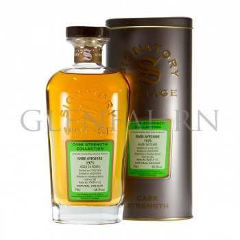Rare Ayrshire 1975 34y Cask#558 Cask Strength Collection Signatory