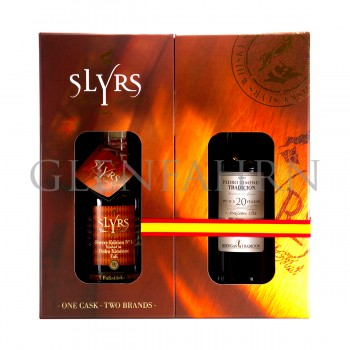 Slyrs Sherry Edition N°1 Pedro Ximenez (35cl Slyrs Whisky+37.5cl Sherry) 72.5cl
