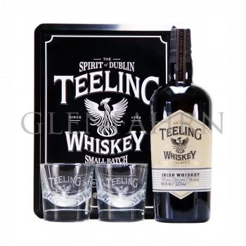 Teeling Small Batch Rum Cask Geschenkspackung mit 2 Gläsern 2018 Design
