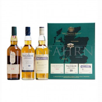 Classic Malts Strong Collection - Lagavulin, Talisker, Cragganmore 3x20cl
