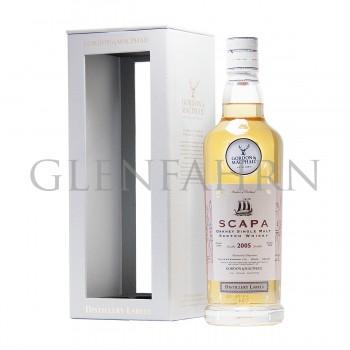 Scapa 2005 bot. 2018 Distillery Labels Gordon & MacPhail