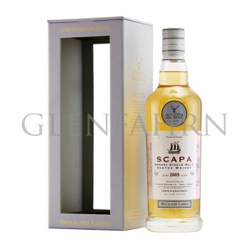 Scapa 2005 bot.2019 Distillery Labels Gordon & MacPhail