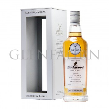 Linkwood 15 Jahre Distillery Labels Gordon & MacPhail