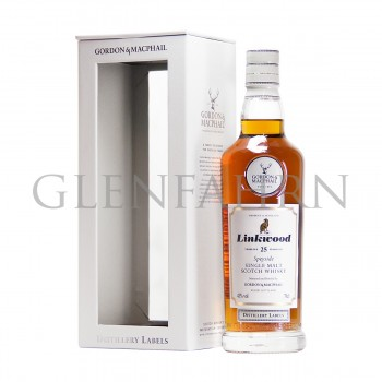 Linkwood 25y Distillery Labels Gordon & MacPhail