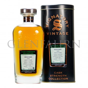 Mosstowie 1979 32y Bourbon Cask#1306 Cask Strength Collection Signatory
