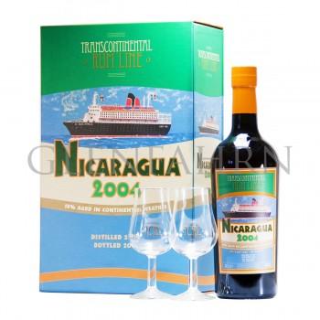 Nicaragua 2004 Transcontinental Rum Line Geschenkpackung
