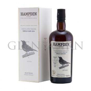 Hampden 2012 8y Cask#664 OWH White Eyed Thrush Trelawny Endemic Birds Habitation Velier