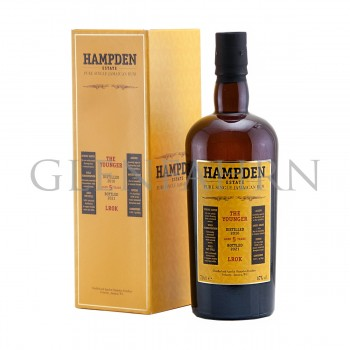 Hampden 2016 5y The Younger LROK Habitation Velier Pure Single Jamaican Rum