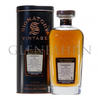 Carsebridge 1982 34y Cask#74689 Cask Strength Collection Signatory