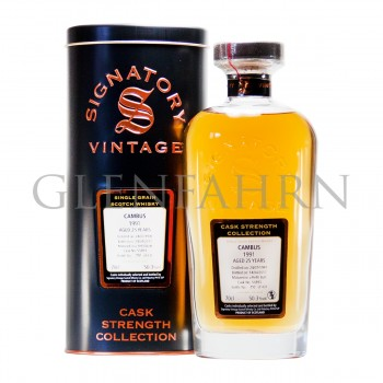 Cambus 1991 25y Cask#55893 Cask Strength Collection Signatory