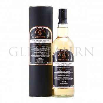 Pulteney 2008 10y Cask#800011 The Un-Chillfiltered Collection Signatory