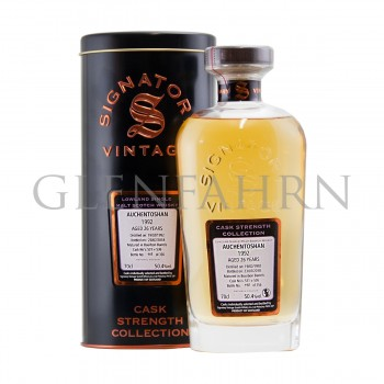 Auchentoshan 1992 26y Casks#531,536 Cask Strength Collection Signatory