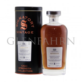 North British 1991 28y Cask#262083 bot. for Kirsch Cask Strength Collection Signatory
